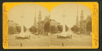 Stereoscopic views showing the statue c. 1865–1890