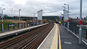 Low Moor station opening day.jpg