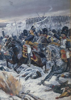 Marshal Ney at the Battle of Eylau