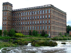 The Anchor Mills (1886) – a remnant of Paisley's Victorian industrial heritage.