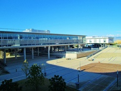Section of the modern buildings of the University of Cyprus (UCY)
