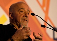 Paulo Coelho, Brazilian lyricist and novelist.