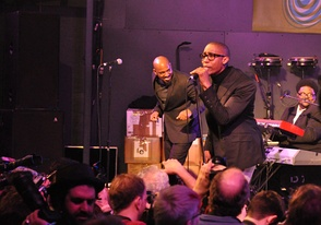 Saadiq performing at South by Southwest in 2011, promoting Stone Rollin'.