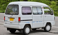 1990–1991 facelifted Suzuki Every van (DA51V)