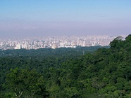 Jaraguá Peak is the highest point in the city, at 1,135 metres (3,724 ft).[26]