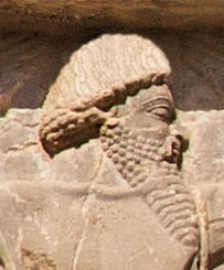 Xerxes I tomb, Sattagydian soldier of the Achaemenid army, circa 480 BCE.