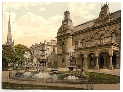 Municipal buildings, Southport, England, ca. 1890 - 1900