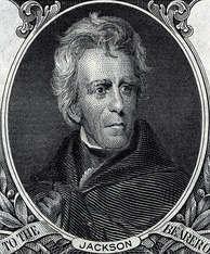 Andrew Jackson was the seventh President of the United States (1829–1837) and the first Democratic President.
