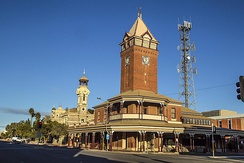 "Bundanyabba is a ""thinly disguised portrait"" of Broken Hill, where much of the film was shot."