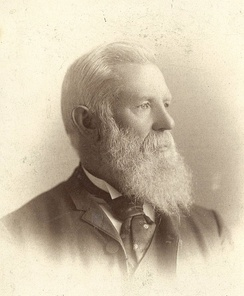 Canute Peterson, ca. 1880.