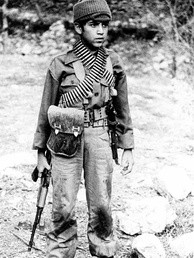 Iranian child soldier