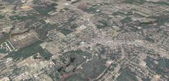 Crestview, Florida from above