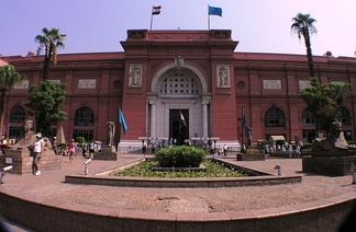 The Museum of Antiquities of Cairo (the most important museum of ancient Egypt in the world) was built in 1901 by the Garozzo-Zaffarani, an Italian construction company