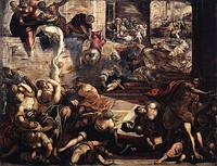 Jacopo Tintoretto, Massacre of the Innocents