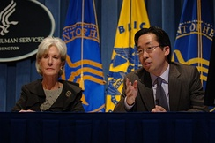 Sebelius and Todd Park, the White House's chief technology officer