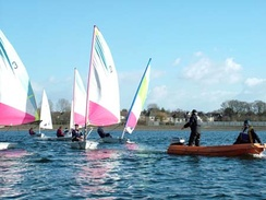 Tuition at Cardiff Sailing Centre