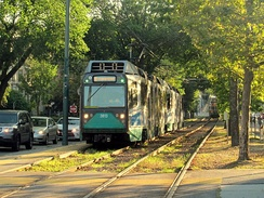 MBTA Green Line, the most heavily utilized light rail system in the United States, serving Boston