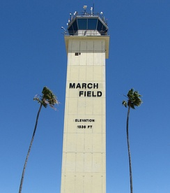 The control tower at March