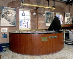 A mash tun at the Bass Museum in Burton-upon-Trent