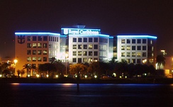 The Royal Caribbean International headquarters at the Port of Miami.