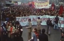 Manifestation of 1978 in Valladolid that sued a Statute of Autonomy for the region.