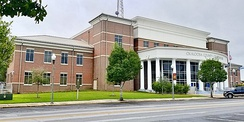 Okaloosa County's new Courthouse first case was held Jan 2, 2019.