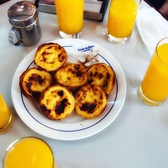 Pastéis de Belém (commonly named as Pastéis de Nata)