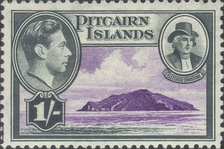 Stamp of the Pitcairn Islands
