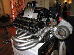 V8 engine for the Indy 500-race