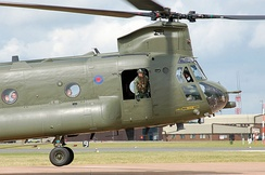 An RAF Chinook HC2 in 2009.