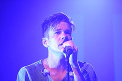 Ruess performing in Tucson, Arizona in March 2012.