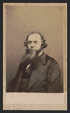 Secretary of War Edwin Stanton, 1862. From the Liljenquist Family Collection of Civil War Photographs, Prints and Photographs Division, Library of Congress