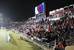 Toyota Field during the 2014 Soccer Bowl
