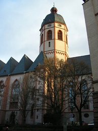 St. Stephan Mainz (St. Stephan Church in Mainz) is famous for its Marc Chagall windows
