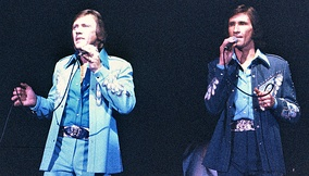 The Righteous Brothers, one of the early artists most closely associated with blue-eyed soul