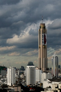 Baiyoke Tower II in Bangkok, Thailand