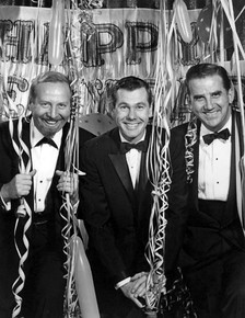 New Year's Eve 1962, with (L-R) Skitch Henderson, Johnny Carson and Ed McMahon.