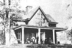 Tudor Hall in 1865