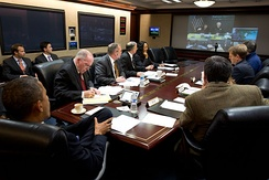 White House conference with FEMA and Department of Homeland Security in preparation for arrival of the hurricane.