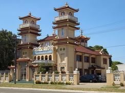 Cao Dai Temple in Wiley Park, New South Wales