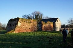 The ruins of Woking Palace