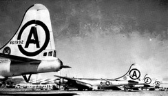 106th Bombardment Wing B-29 Superfortresses at March AFB, 1951