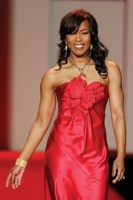 Bassett at the 2007 The Heart Truth's Red Dress Collection.