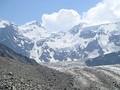 Гора Белуха, Вид от озера Аккем