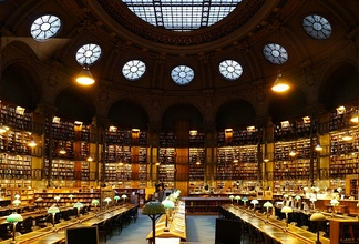 Richelieu reading room, National Library of France