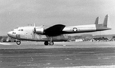 Fairchild C-119C-25-FA Flying Boxcar Serial 51-2611 of the 317th TCW