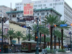 Canal Street and South Rampart Street