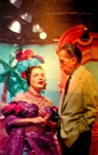 Carmen Miranda and Ed Sullivan on Toast of the Town, 1953.