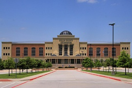 The Collin County Courthouse in McKinney