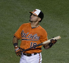 Parra with the Orioles in 2015